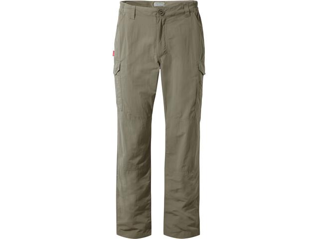Craghoppers NosiLife Cargo II Pantaloni Uomo, verde oliva